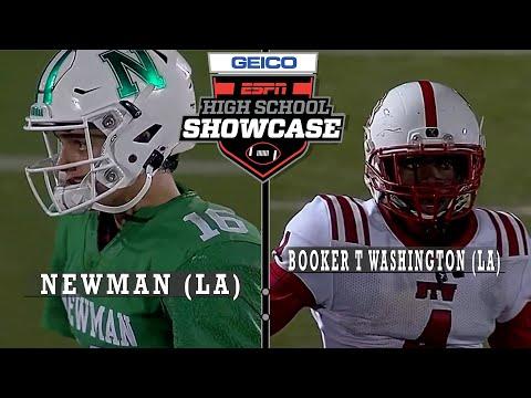 Booker T. Washington (LA) vs. Newman (LA) - ESPN Broadcast Highlights