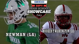 Booker T. Washington (LA) vs. Newman (LA) - ESPN Broadcast Highlights