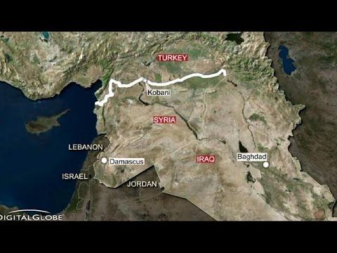 Türk tankları Kobani sınırında pozisyon aldı