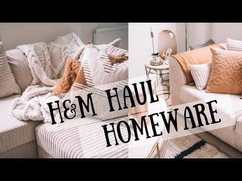 H&M Haul | Homeware Haul & Home Tour | Sinead Crowe