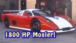 1800 HP 427 LSX Mosler Road Trip.  Nelson Racing Engines. Las Vegas Speedway!