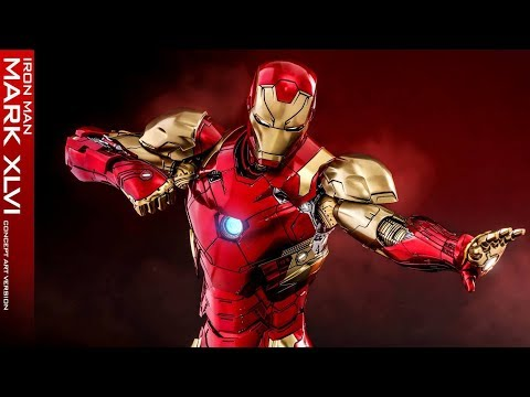 PREVIEW Hot Toys IRON MAN MARK 46 Concept Diecast / DiegoHDM