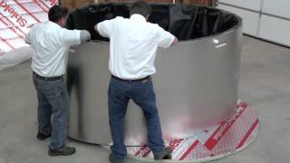 Hydroflex Systems Water Storage Tank Installation