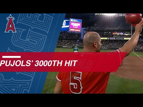 Albert Pujols Joins The 3,000-hit Club