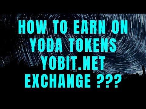 Как заработать на токене Yoda от Yobit.net ? Криптовалюта бесплатно