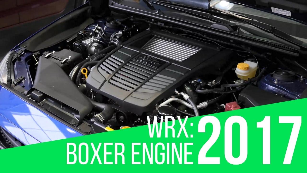 2017 Subaru Wrx Boxer Engine