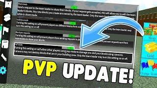 *NEW* PVP UPDATE! | Build A Boat For Treasure ROBLOX