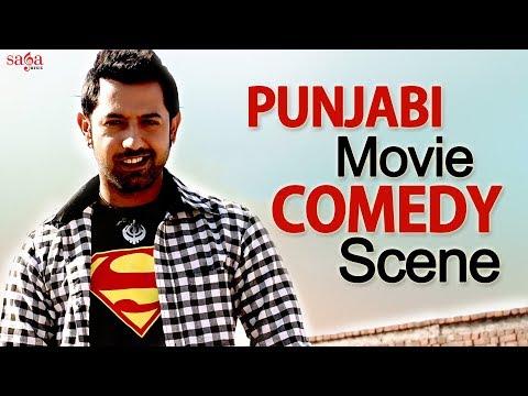 Gippy Grewal - New Punjabi Comedy Scene | Gurpreet Ghuggi | Bank Robbery | Punjabi Funny Video 2018