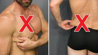 6 Tricks To Lose Chest Fat & Back Fat! (WORKS 100%)