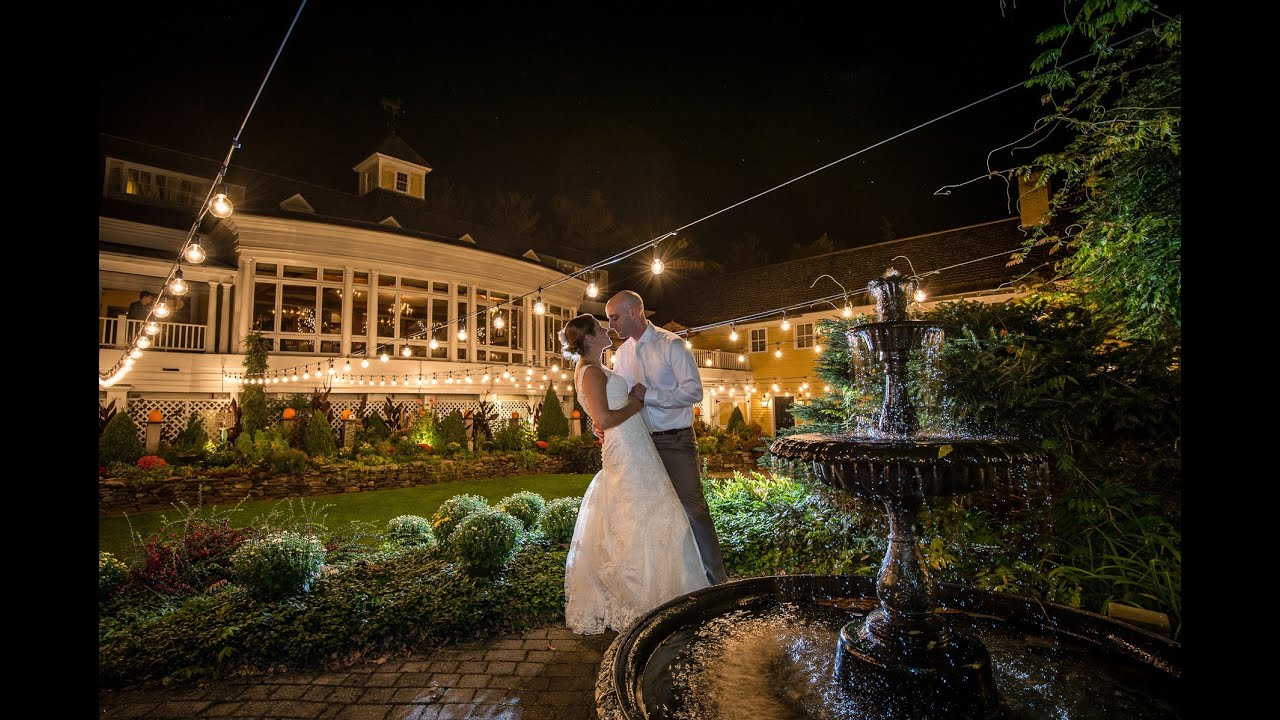 Bedford Village Inn Wedding Bedford New Hampshire Andrea And Mike Youtube