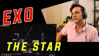 Ellis Reacts #583 // Guitarist Reacts to EXO - The Star // LIVE // EXOLUXION//  Reaction to KPOP