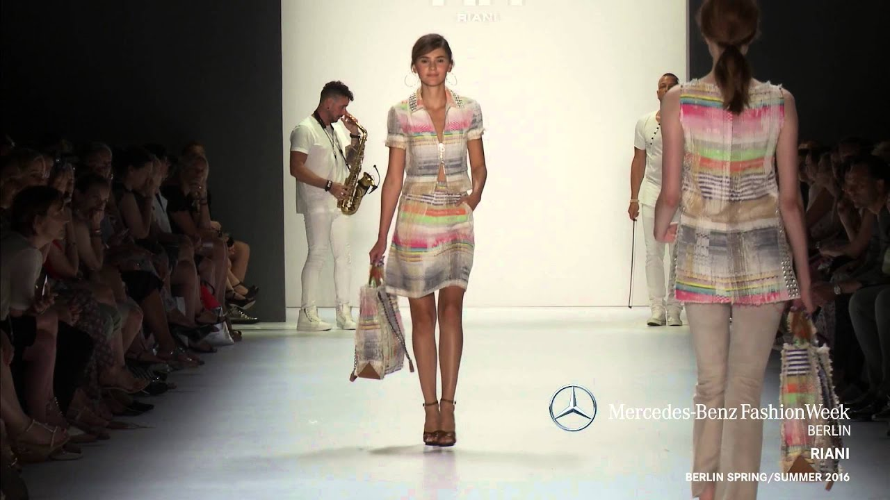 RIANI   MERCEDES BENZ FASHION WEEK BERLIN SS2016   YouTube
