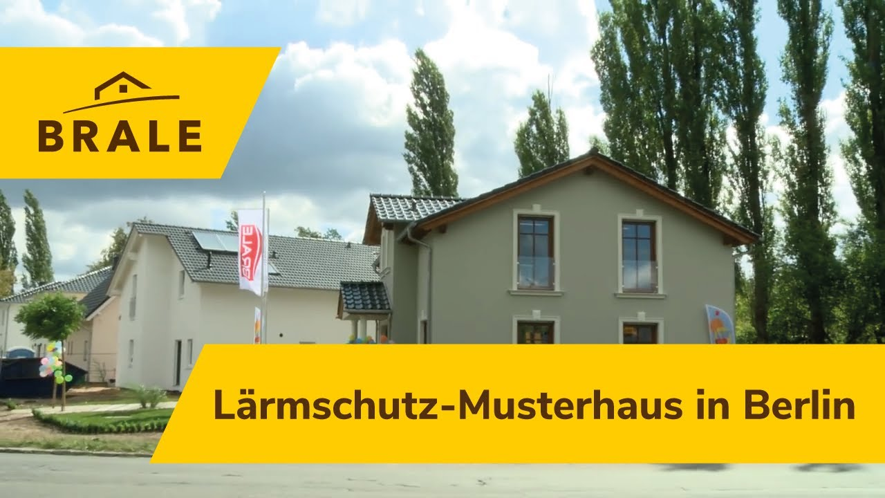 Musterhaus Berlin eröffnung brale lärmschutz musterhaus in berlin spandau