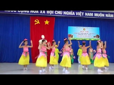 Múa ĐI CẤY-  Dân ca Thanh Hóa- Trường Tiểu học Thạnh Phú 3