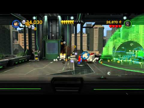 LEGO Batman 2 DC Super Heroes Walkthrough - Part 7 - Research and Development (Wii U, Xbox 360, PS3)