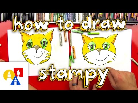 How To Draw Stampy - Art For Kids Hub -