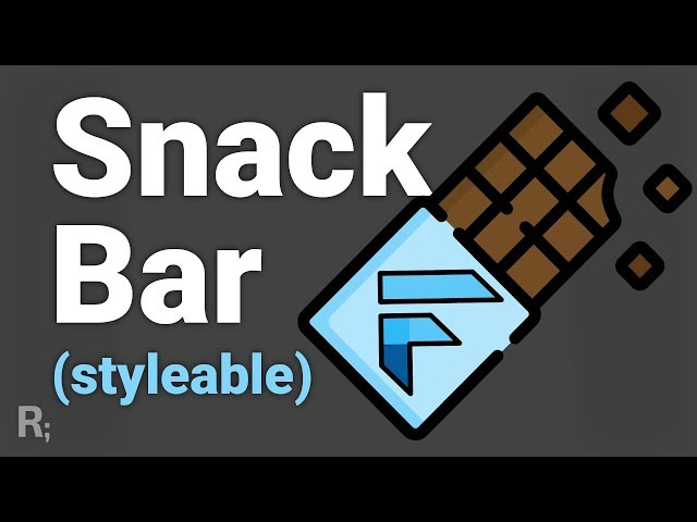 Beautiful Snackbar on Flutter (without Scaffold) - Flushbar Library