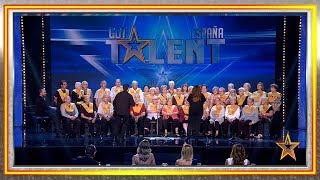 La música ha salvado la vida de estos enfermos de Alzheimer | Audiciones 1 | Got Talent España 2019