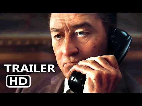 THE IRISHMAN Official Trailer (2019) Robert De Niro, Al Pacino, Martin Scorsese Movie HD