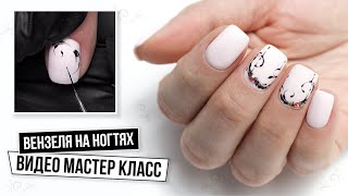 Вензеля на ногтях Видео мастер класс Как рисовать вензеля на ногтях Маникюр от начала до конца