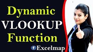 Dynamic VLOOKUP in Excel || Excel Telugu Videos