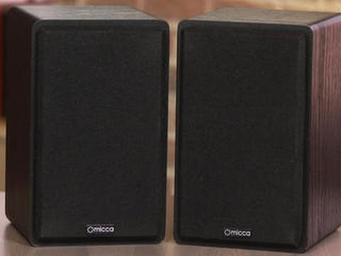 Stylish Speakers micca mb42: compact, stylish speakers on the cheap - youtube