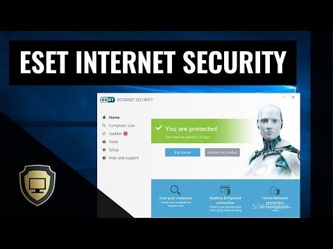 ESET Internet Security Review   V11   2018