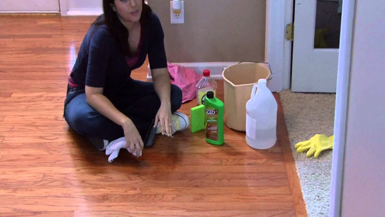 housekeeping tips : how to fix scratches on hardwood floors - youtube
