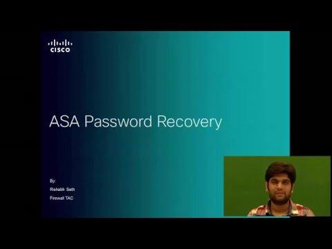 Password Recovery on Cisco ASA - YouTube
