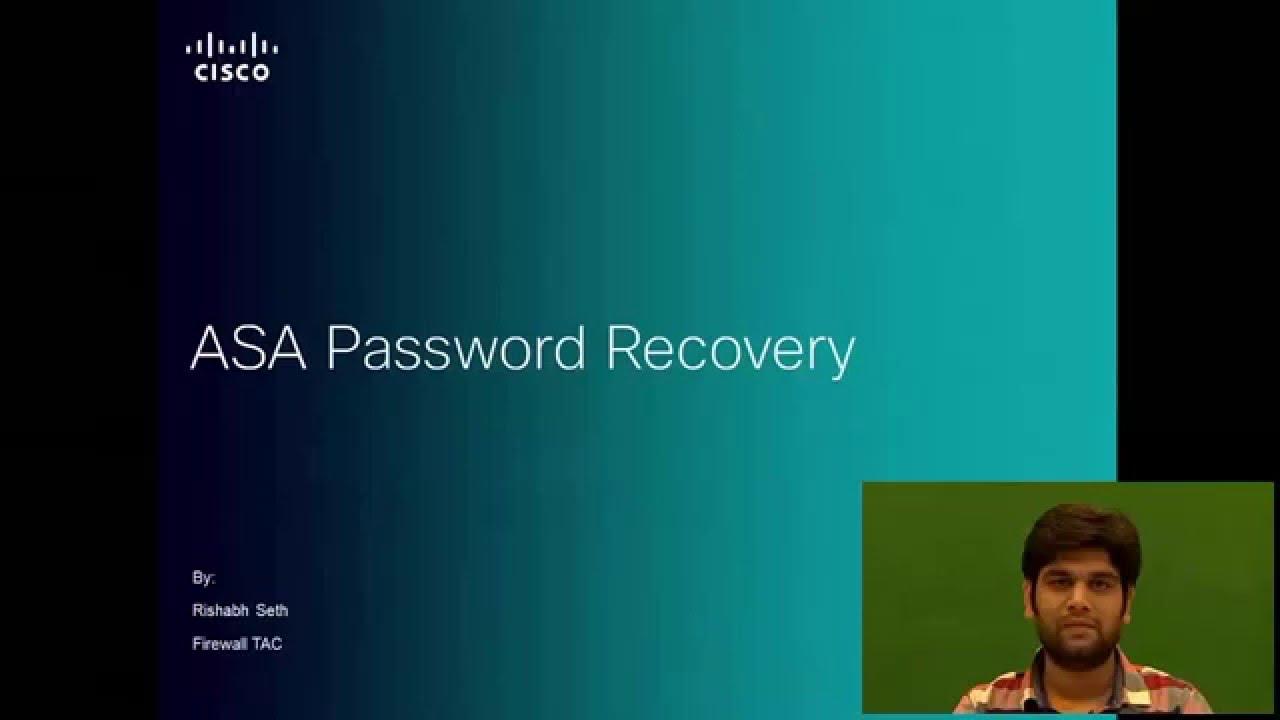 Password Recovery on Cisco ASA