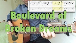 Drum tabs for boulevard of broken dreams