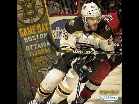 NHL 18 PS4. REGULAR SEASON 2017-2018: Boston BRUINS VS Ottawa SENATORS. 01.25.2018. (NBCSN) !