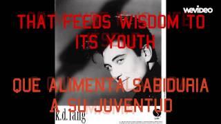 K.D. Lang - Constant Craving (Sub Español Inglés)