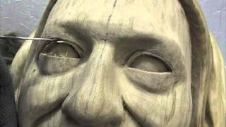 Woodcarving Lessons With Ian Norbury - 07 - The Eye Part 2
