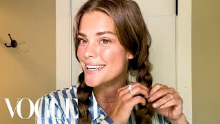 Model Nina Agdal's Face Sculpting Secrets | Beauty Secrets | Vogue