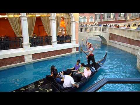Gondola Ride The Venetian Macau