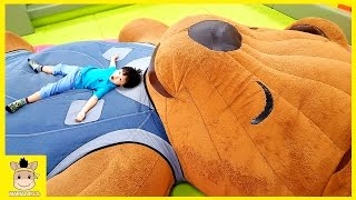Indoor Playground Family Fun Play Area for Kids Slide Playtime Home | MariAndKids Toys