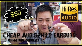 Cheap Audiophile earbuds10 Speakers  #audiophile #china #cheap