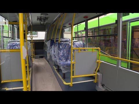На городские маршруты выходят новые автобусы