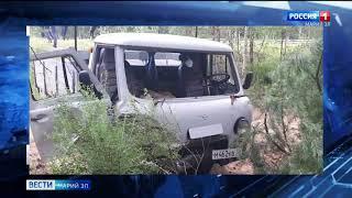 В Марий Эл водитель не справился с управлением и врезался в дерево