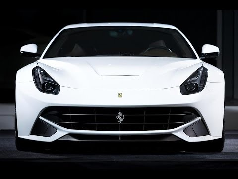 f12 berlinetta white. white ferrari f12 berlinetta setting off car alarm
