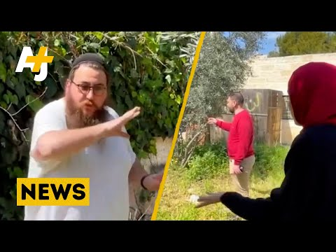 'If I Don't Steal [Your Home] Someone Else Will' Israeli Settler Justifies Forcible Takeover This is what a Palestinian woman told an Israeli settler, as he tried to take over her family's home in occupied East Jerusalem's Sheikh Jarrah neighborhood., From YouTubeVideos