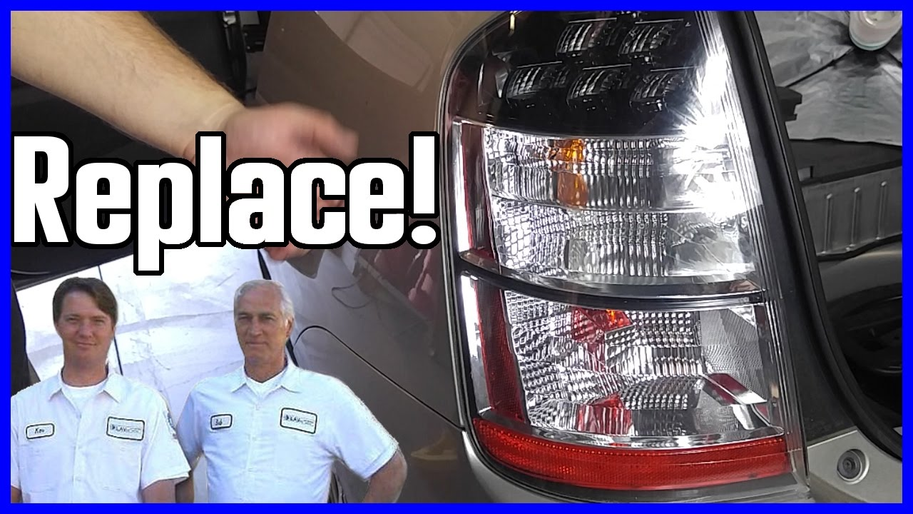 How To Replace A Brake Light Toyota Prius 2003 2009 Gen Ii Xw20