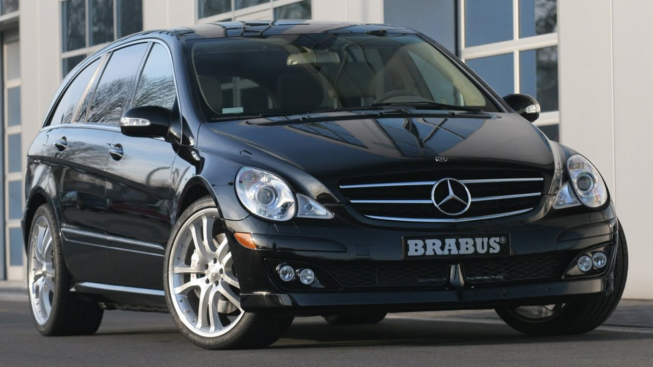 brabus mercedes benz r class 2006 youtube. Black Bedroom Furniture Sets. Home Design Ideas