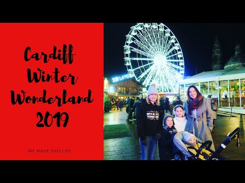 Cardiff Winter Wonderland 2019 – Rides, Food, The Big Wheel and Ice Skating & The Alpine Trail