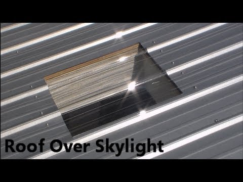 Perfect How To Cover The Skylight   YouTube