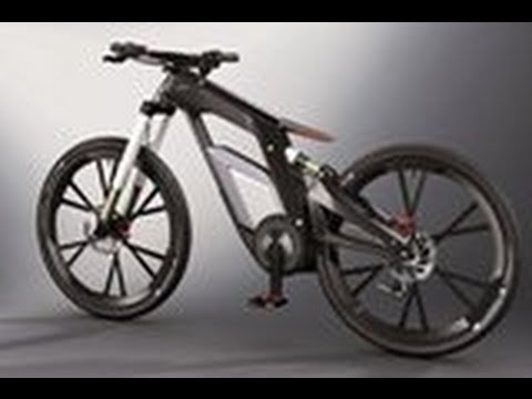 The New Audi E Bike A Bicycle Youtube