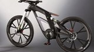 The New Audi e-bike - A bicycle
