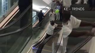 THE FIRST ESCALATORS IN KERICHO FUNNY KENYAN VIDEOS