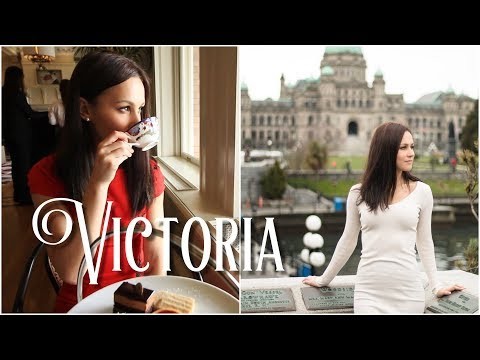 24 Hours In Victoria, British Columbia. High Tea At The Empress.